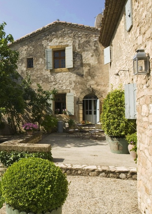 dream home in Provence