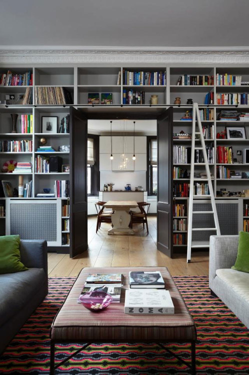 stylish interiors in Notting Hill (via Casa de Valentina)