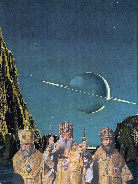 luneballoon:  RELIGION IN SPACE // collage by Vän.Gus on Flickr.