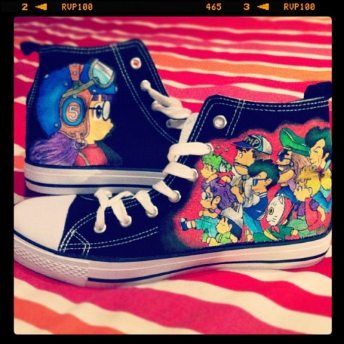 #custom #shoes #arale  (Tomada con instagram)