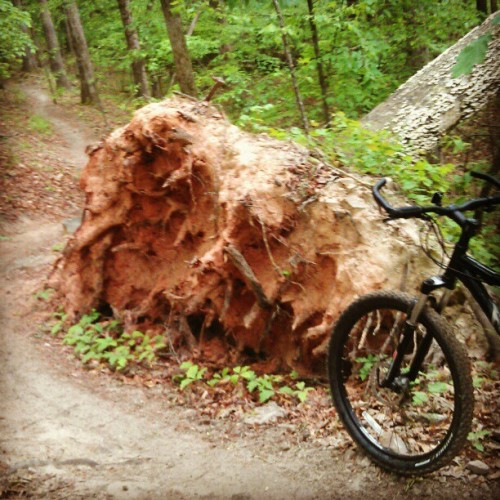 Tuesday ride at Big Creek (Taken with Instagram at Big Creek Mountain Bike Park)