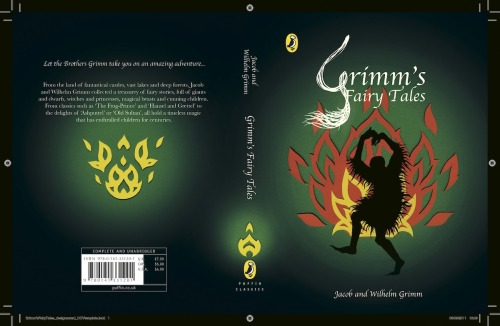 Penguin Book cover competition, Grimm's Fairy Tales