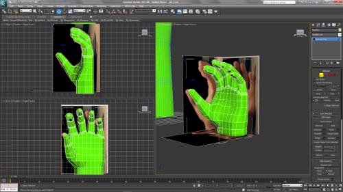 Finished modelling the hand(s) for my Yeti character! Could carry on and make it higher poly but tbh I'm happy with them and they will be more than adequate for my animation :) Feedback would still be great though :)