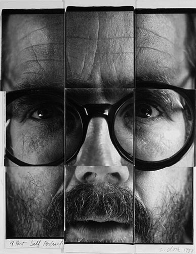 zeroing:  Chuck Close