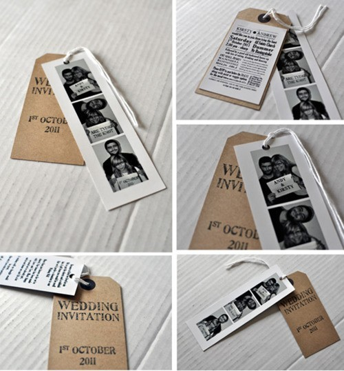 Photobooth Invitations.