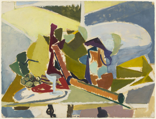 Lee Krasner, Still Life, 1938. The Museum of Modern Art.