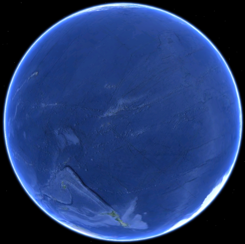 Earth from a different angle.