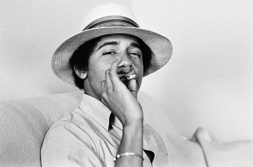 "coketalk:  I had a dream last night that I was smoking a joint with President Obama. He had a red bicycle, a beach cruiser that you rent for the day on the Venice Boardwalk, and he was young, just like those pictures of him in college with the straw hat and the cool attitude. We sat together in the grass by the bicycle, and we each took a long drag, and I asked him, ""Seriously, dude. Why the fuck don't you make this shit legal?"" He put a finger to his lips as if to say, ""Shhh."" Then he grinned like the Cheshire Cat, and I suddenly realized that he was telepathically communicating with me. Without moving his lips, I heard him speak two simple words: second term. Second term, indeed."