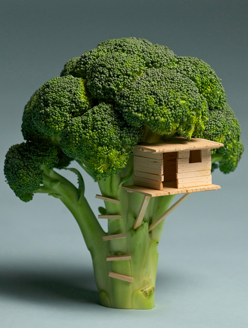 szymon:  Broccoli House by Brock Davis