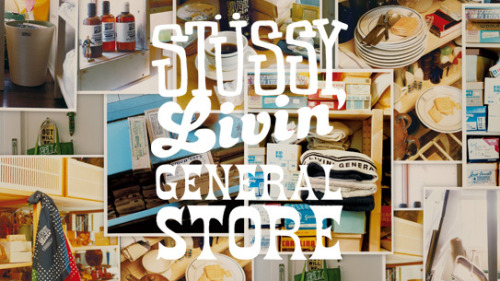 Stussy Livin' General Store - Spring 2012 Collection Stussy Japan have been upping their game with the Stussy Livin' range offering us lifestyle and home-ware products from their General Store Collection. We've seen kitchen tools to underwear and socks. This month they are offering us more variety including a shower set, bandanas and velva sheen v neck pocket tshirts in a pack. All very subtly having the brands iconic label on them. Available now from all Stussy Livin' stockists, only in Japan i'm afraid.