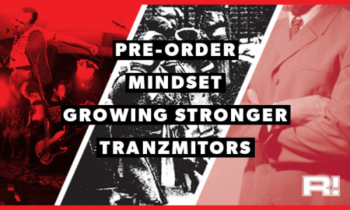 The Hellfish Weekly: Preorder Mindset, Growing Stronger, Tranzmitors & A389 Recordings news
