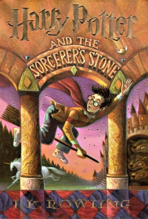 30 Day Book Challenge Day 12: The first novel you remember reading? Harry Potter and the Sorcerer's Stone by J.K. Rowling