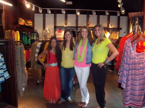 southmoonunder1968:  Neon Day in Fairfax Corner!  Me and the Fairfax crew :)
