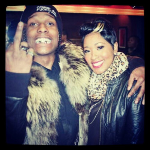 mckush:  ' Rakim & Erica . . , his sister is gorgeous <3