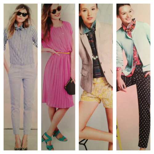 cpatt:  My favorite looks in the J.Crew May Style Guide