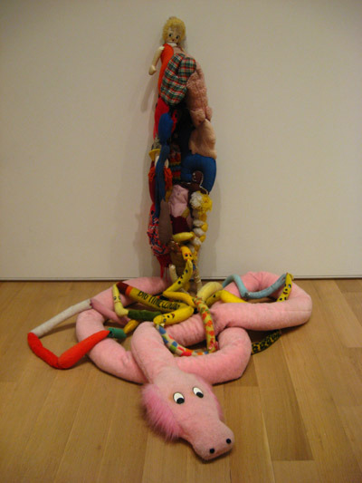 Eviscerated Corpse, Mike Kelley (1989).