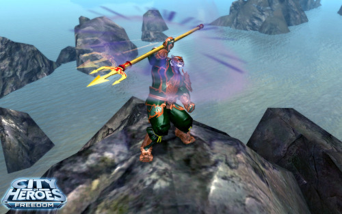 Staff Fighting now available in City of Heroes Heroes and villains can officially pick up Staff Fighting as a primary or secondary power set in City of Heroes.  The new set is available for 800 Paragon Points in the Paragon Market.