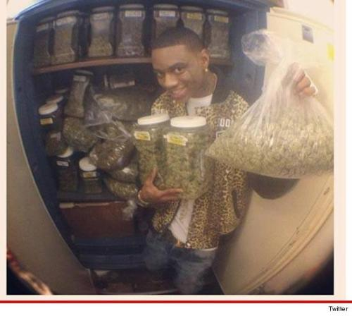 tmz:  Soulja Boy hits the marijuana MOTHERLOAD!!!!
