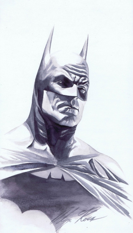 Artwork : Batman par Alex Ross