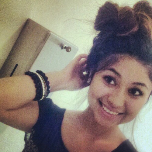 Hair Bow for a hot day <3  (Taken with instagram)