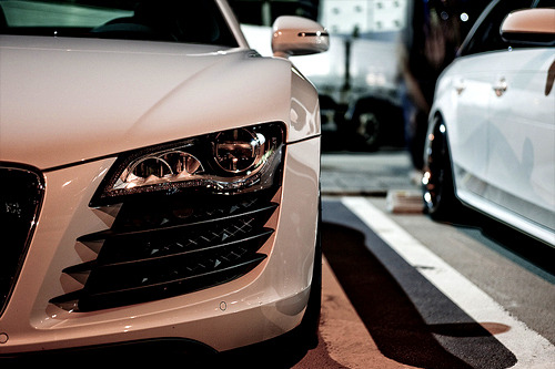 fuckyeahthebetterlife:  R8 via So Lens