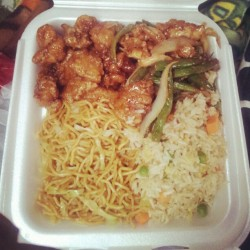 Panda Express After 6 Months! (Taken with instagram)