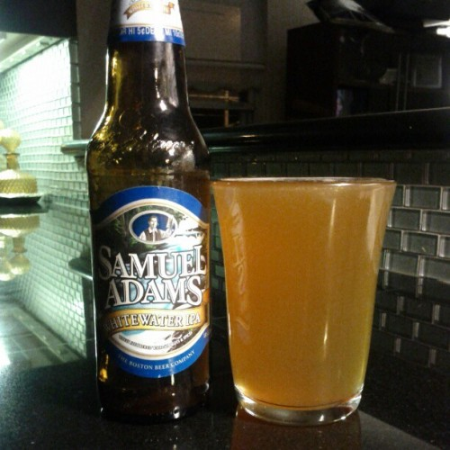 WhiteWater IPA - Sam Adams (Taken with instagram)