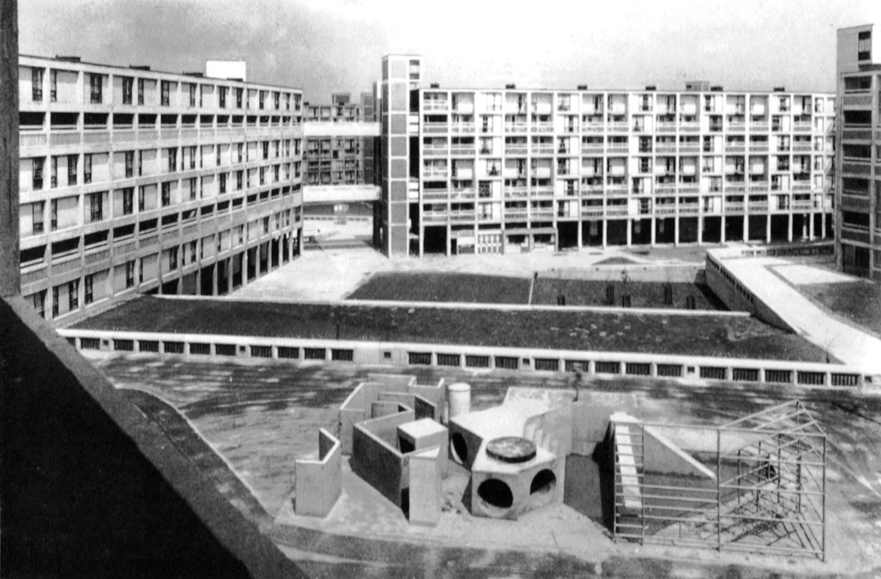 Park Hill Estate, Sheffield, England, 1961 (Jack Lynn & Ivor Smith, Sheffield City Architect's Department)