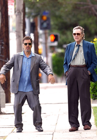 thegoodfilms:  Al Pacino and Christopher Walken