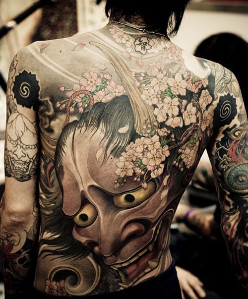 rustyness:  Full Back Tattoo, Perfect!