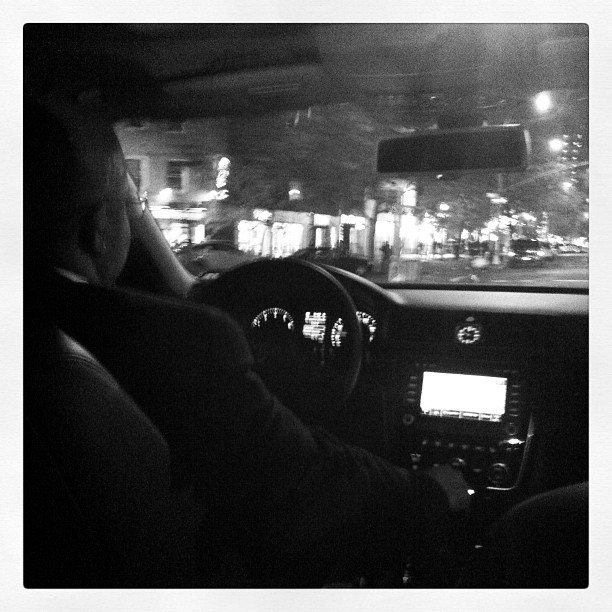 I got my own free cab driver! HUGE shoutout to PS 1 MoMA and Volkswagen #VWFanTickets (Taken with instagram)