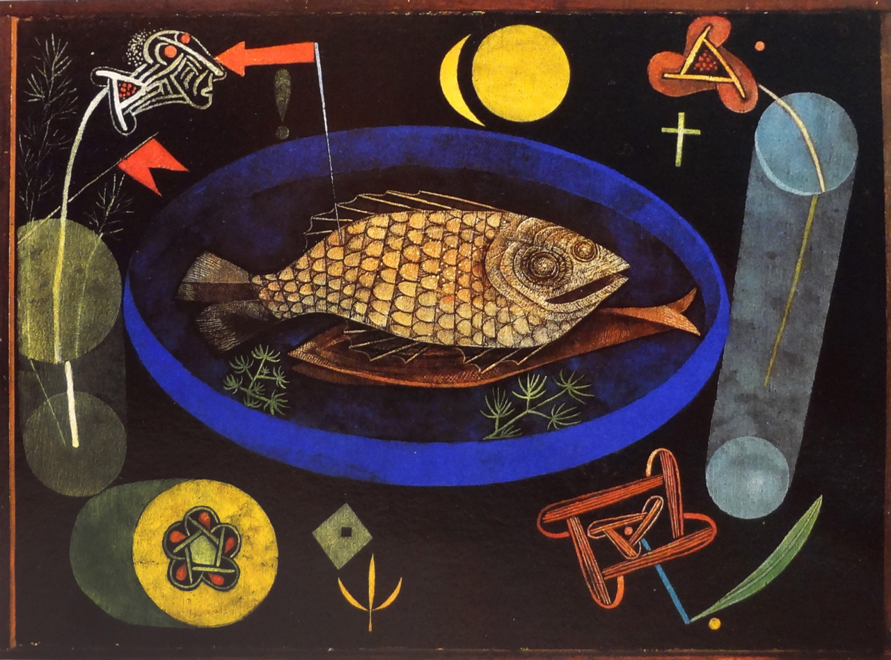 Around the Fish, Paul Klee, 1926.