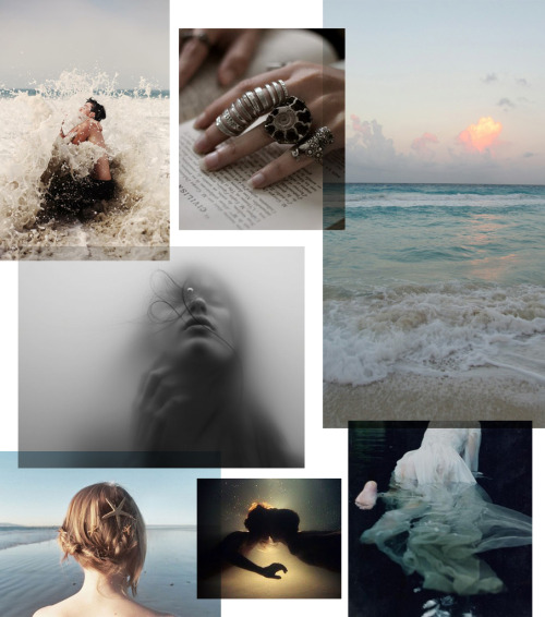The Little Mer-Girl inspiration board. See the whole, tragically romantic story and image credits here: http://threadbaresupply.com/?p=2960