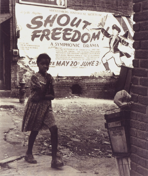 yearningforunity:  Shout Freedom Charlotte NC circa 1948