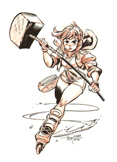 hello-zombie:  Ramona by Enrique Rivera