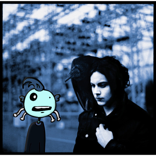 Dedley found his way onto Jack Whites new album cover…