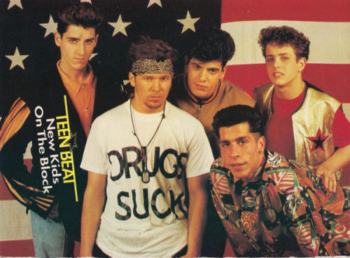 Gimme that shirt, Donnie Wahlberg