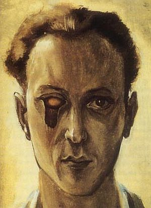 "Marcel Duchamp     Self-portrait with a Plucked Eye      1931 ""I have forced myself to contradict myself in order to avoid conforming to my own taste.""  Marcel Duchamp"