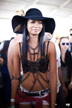 williamyan:  Chanel Iman by William Yan