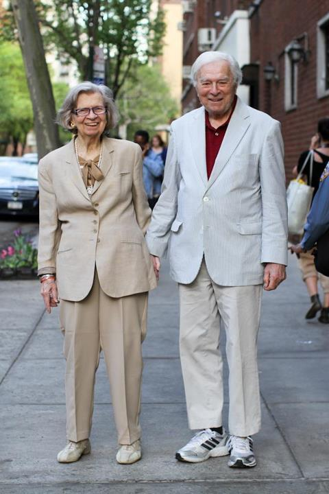 "humansofnewyork:  ""What's your favorite thing about your wife?""""I can't say that in public!"""