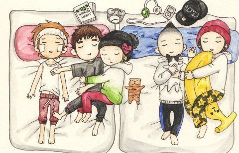 viphottest:  Big Bang~ this is so cute.