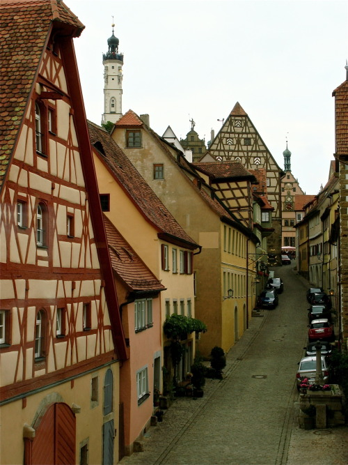 alpenstrasse:  Rothenburg ob der Tauber