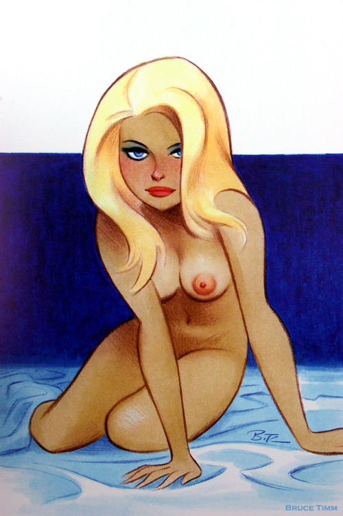Bedroom Eyes. Naughty and Nice: The Good Girl Art of Bruce Timm: 2012. MegaCon. Orlando. 2012. My Hotel Room. My Desk.