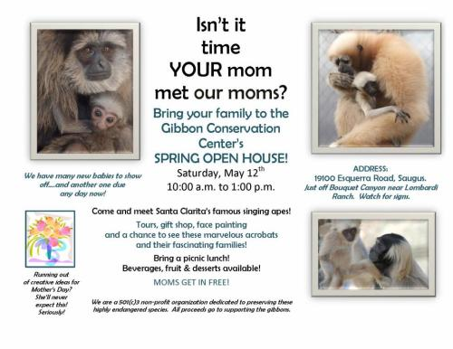Do something different this mothers day, come join us for our spring open house.