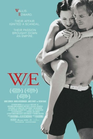 i am watching this now  W.E (2011)  Friday April 20, 2012  i love the cinematography ish in this film btw.  and soundtracks.