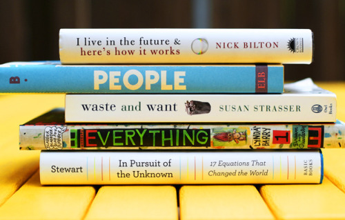 Book spine poetry is lovely.