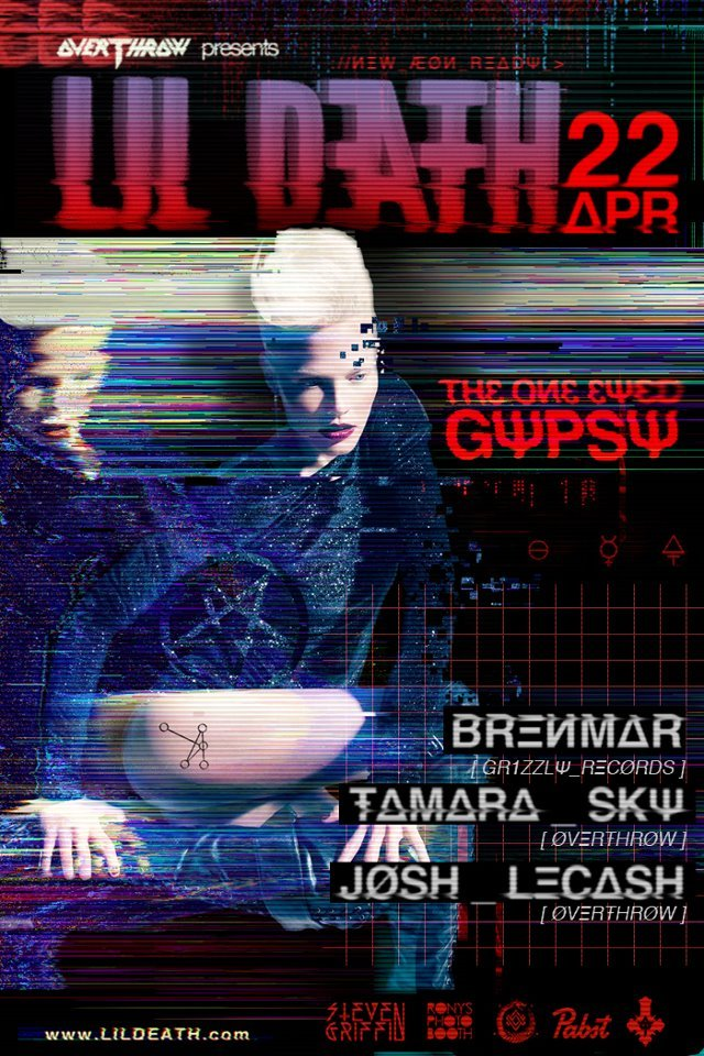 LA: 2night we have @l1ldeath w the return of Brenmar! >:)