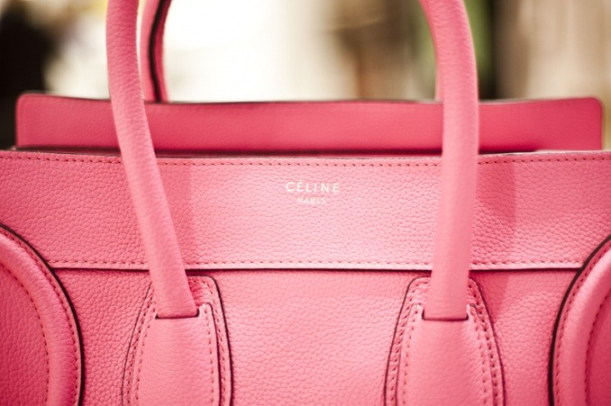 Celine - Boston Bag (Fluro Pink).
