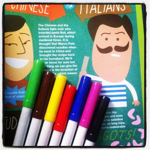 #stationery #colour #pens #myroom  (Taken with instagram)