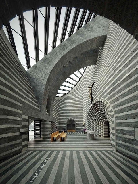 eclecticinterior:  Church by Mario Botta